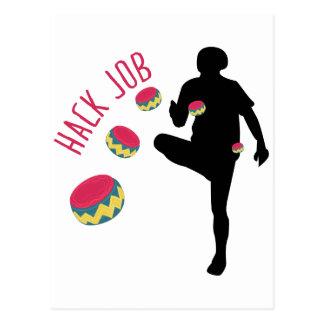Hack Job Postcard
