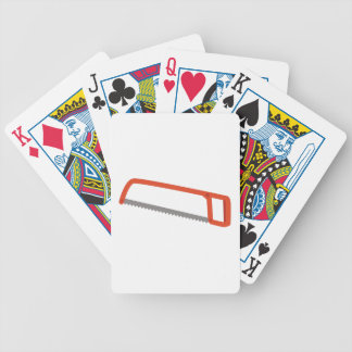 Hack Saw Bicycle Playing Cards