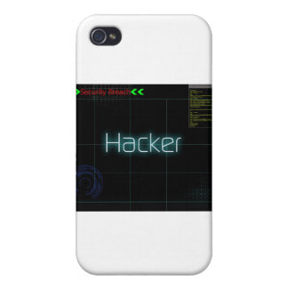 Hack T-Shirt iPhone 4 Cases