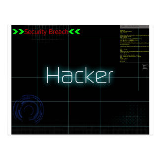 Hack T-Shirt Post Card