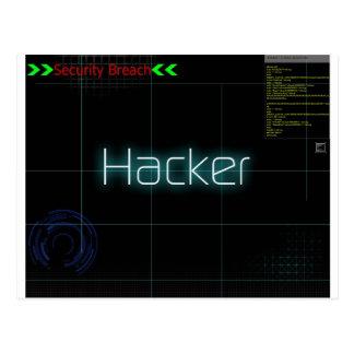 Hack T-Shirt Postcard