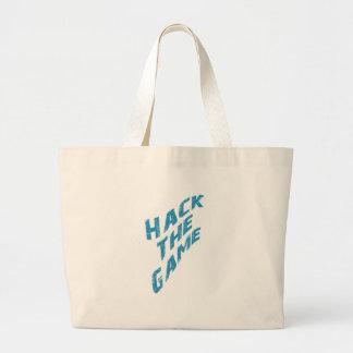 Hack The Game Jumbo Tote Bag