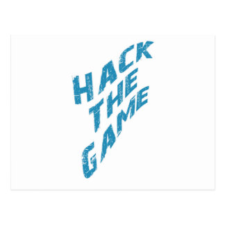 Hack The Game Postcard