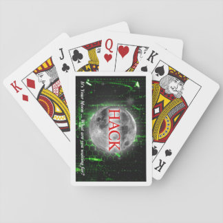 Hack The Moon Playing Cards