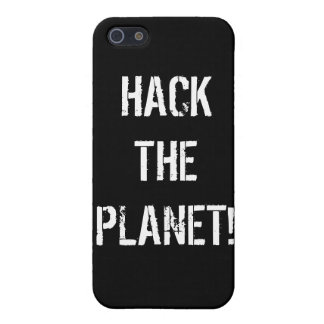 Hack the Planet for iPhone 4 iPhone SE/5/5s Cover