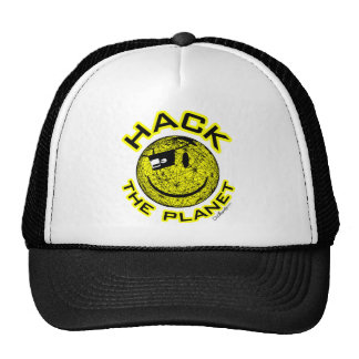 Hack the Planet Mesh Hats