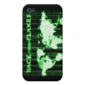 Hack the Planet Cases For iPhone 4