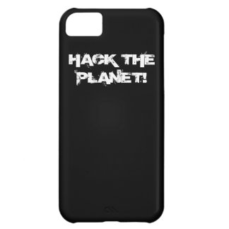 Hack the Planet iPhone case 2