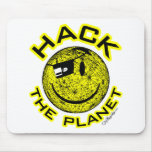 Hack the Planet Mouse Pads