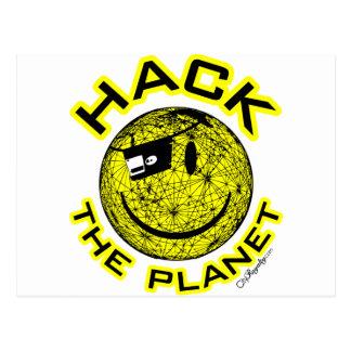 Hack the Planet Postcard