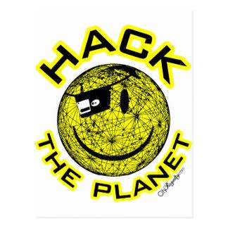 Hack the Planet Postcards