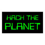 hack the planet poster