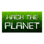 hack the planet posters