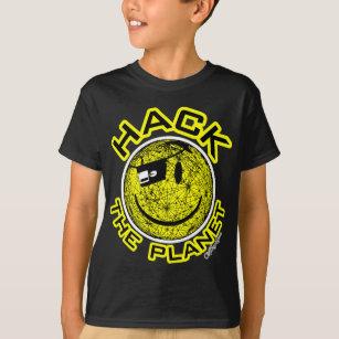443e06ce0 Hack The Planet T-Shirts - T-Shirt Design & Printing | Zazzle