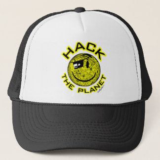 Hack the Planet Trucker Hat
