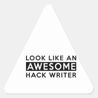 HACK WRITER  DESIGNS TRIANGLE STICKER