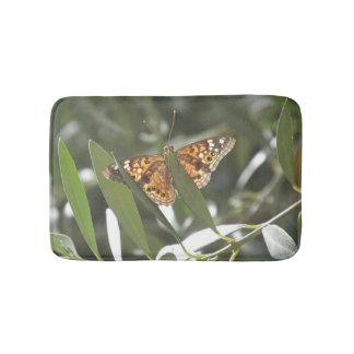 Hackberry Emperor Butterfly Bathroom Mat