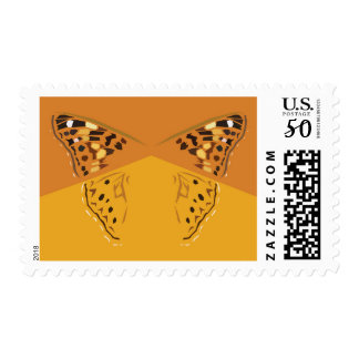 Hackberry Emperor Butterfly Postage Stamp