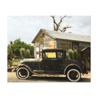 Hackberry General Store Route 66 Canvas Print