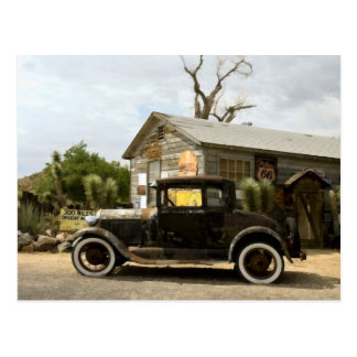 Hackberry General Store Route 66 Postcard