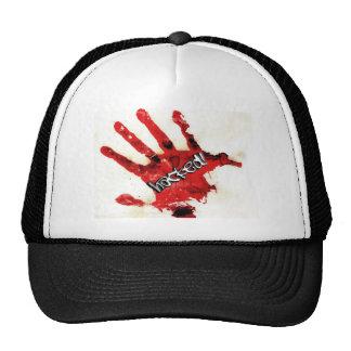 HACKED blood hand Trucker Hat