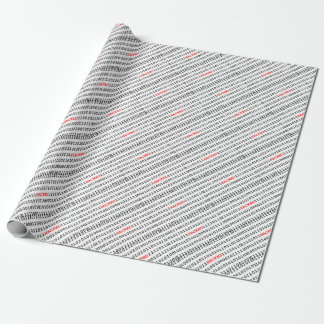 Hacked Code Wrapping Paper
