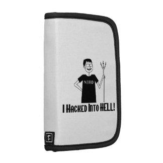 Hacked Into Hell Nerd Organizer