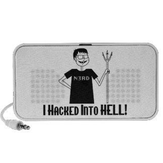 Hacked Into Hell Nerd Speaker System