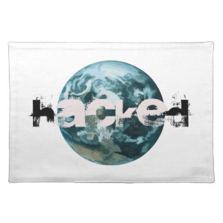 Hacked Planet Earth Placemat