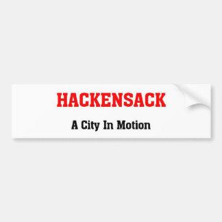 Hackensack, New Jersey Pegatina Para Auto