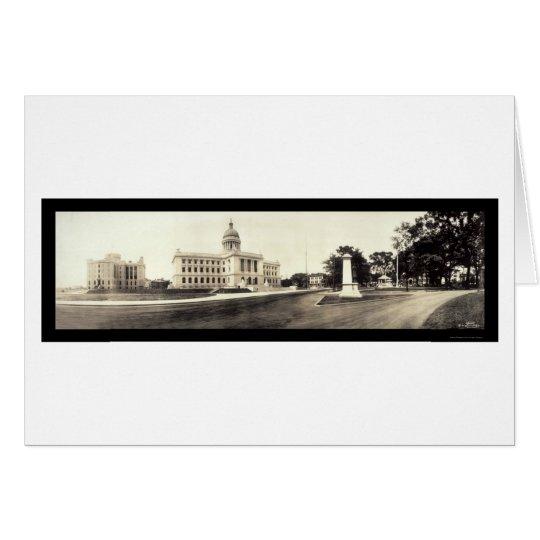 Hackensack, NJ Court Photo 1913 Card