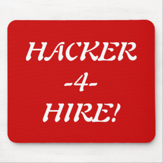 HACKER-4-HIRE! MOUSE PAD