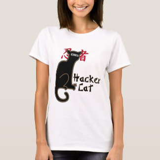 Hacker cat ninja T-Shirt
