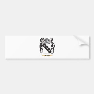 Hacker Coat of Arms (Family Crest) Bumper Stickers