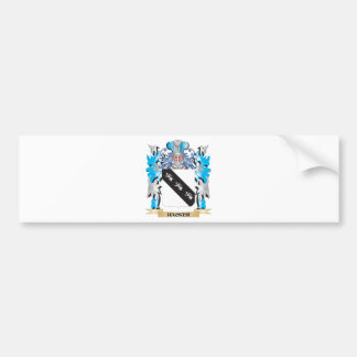 Hacker Coat of Arms - Family Crest Bumper Stickers