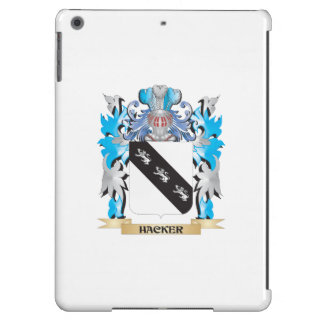 Hacker Coat of Arms - Family Crest iPad Air Covers
