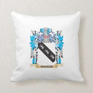 Hacker Coat of Arms - Family Crest Pillows