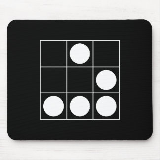 Hacker Emblem Mouse Pad