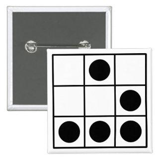 Hacker Emblem Pinback Buttons