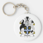 Hacker Family Crest Key Chains