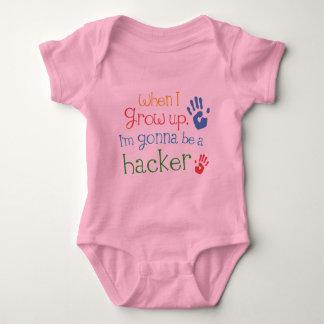 Hacker (Future) Infant Baby T-Shirt