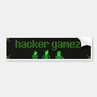 Hacker Gamez Bumper Sticker