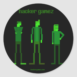 Hacker Gamez Logo Sticker