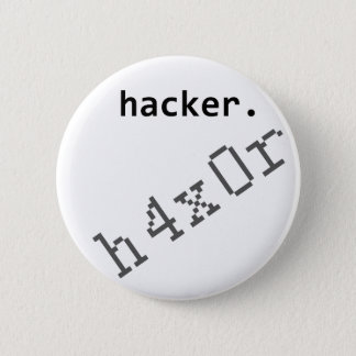 Hacker h4x0r button