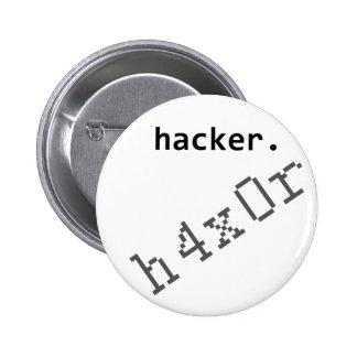 Hacker h4x0r button