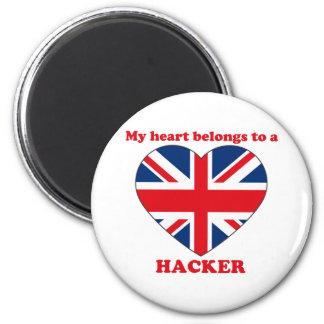 Hacker Refrigerator Magnets