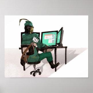 Hacker Robin Hood Poster