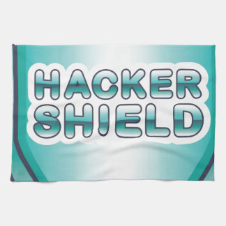 Hacker Shield Hand Towel