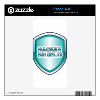 Hacker Shield Skins For iPhone 4S