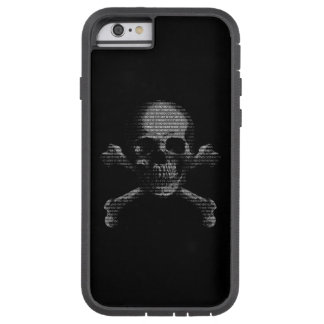 Hacker Skull and Crossbones Tough Xtreme iPhone 6 Case